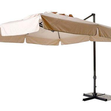 ombrellone alluminio a braccio laterale 3x3